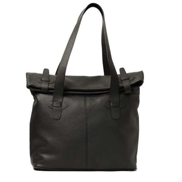 damska kozena cerna kabelka