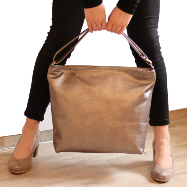 Kozena kabelka damska