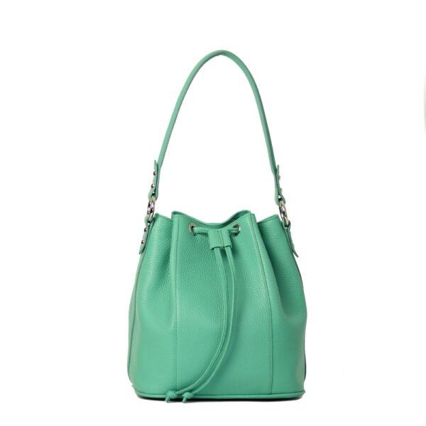 Kozena kabelka esmeralda