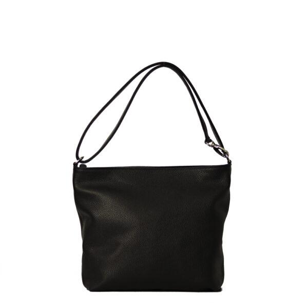 kozena kabelka černa