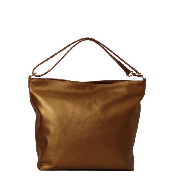 Kozena metalicka kabelka