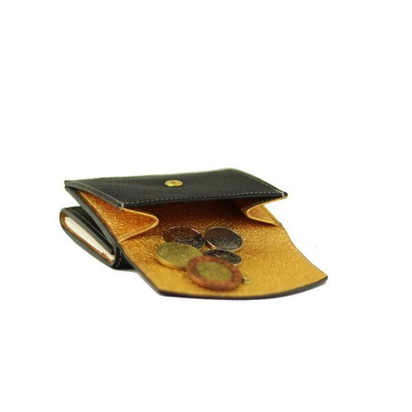 Damska kozena penezenka mince